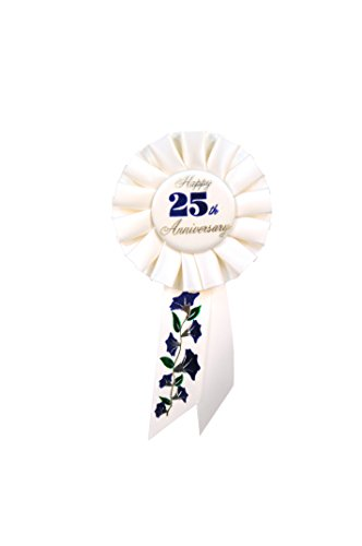 Beistle Happy 25th Anniversary Rosette von A Beistle Creation