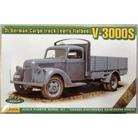 V-3000S 3t German cargo Truck (early flatbed) von ACE
