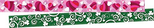 Barker Creek Double-Sided Border 2 pack - Hearts and Clover (BC3682) von Barker Creek