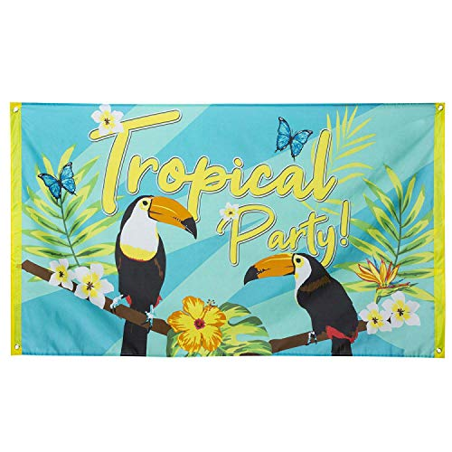 Boland 52571 Flagge Tropical Party Tukan Dekoration von Boland