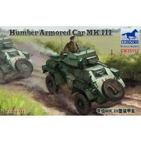 Humber Armored Car MK.III von Bronco Models
