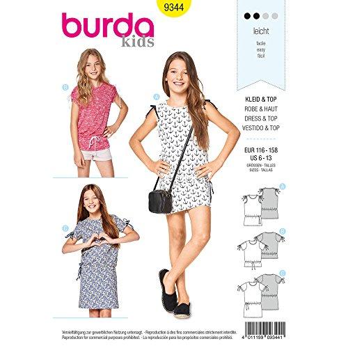 Burda 6532 Schnittmuster Hängerkleid und Top Level 2 leicht burda style Damen, Gr. 34-46