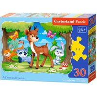 A Deer and Friends - Puzzle - 30 Teile von Castorland