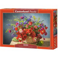 Bouquet with Poppies - Puzzle - 500 Teile von Castorland