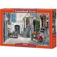 Charming Alley with Red Bicycle - Puzzle - 500 Teile von Castorland