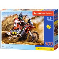 Dirt Bike Power - Puzzle - 300 Teile von Castorland