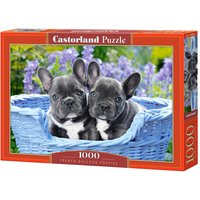 French Bulldog Puppies - Puzzle - 1000 Teile von Castorland