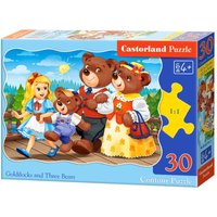 Goldilocks and Trree Bears - Puzzle - 30 Teile von Castorland