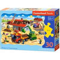 House in Construction - Puzzle - 30 Teile von Castorland