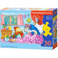 Little Red Riding Hood - Puzzle - 30 Teile von Castorland