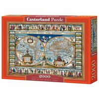 Map of the world,1639 - Puzzle - 2000 Teile von Castorland