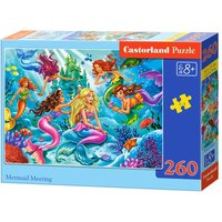 Mermaid Meeting - Puzzle - 260 Teile von Castorland