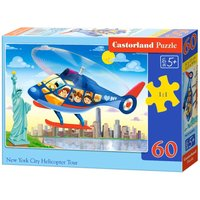 New York City Helicopter Tour,Puzzle 60 Teile von Castorland