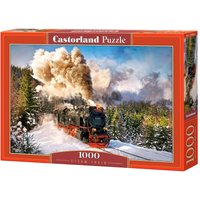 Steam Train - Puzzle - 1000 Teile von Castorland