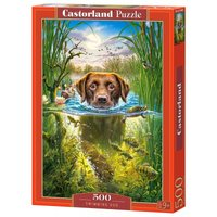 Swimming Dog - Puzzle - 500 Teile von Castorland