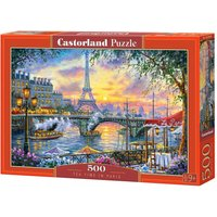 Tea Time in Paris - Puzzle - 500 Teile von Castorland