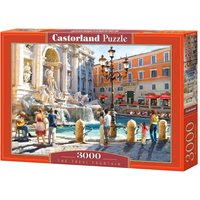 The Trevi Fountain - Puzzle - 3000 Teile von Castorland