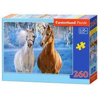 The Winter Horses - Puzzle - 260 Teile von Castorland