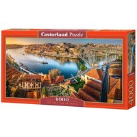 The last sun on Porto - Puzzle - 4000 Teile von Castorland
