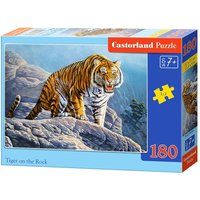 Tiger on the Rock - Puzzle - 180 Teile von Castorland