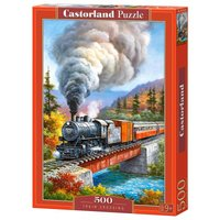 Train Crossing - Puzzle - 500 Teile von Castorland