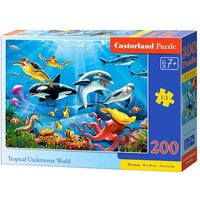Tropical Underwater World - Puzzle - 200 Teile von Castorland