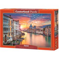 Venice at Sunset - Puzzle - 500 Teile von Castorland