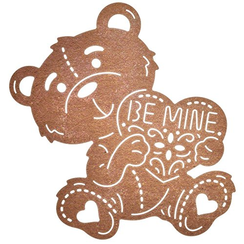 Cheery Lynn Designs be Mine Teddy Bär, 2.125-inch X 5,7 cm, andere, Mehrfarbig von Cheery Lynn Designs