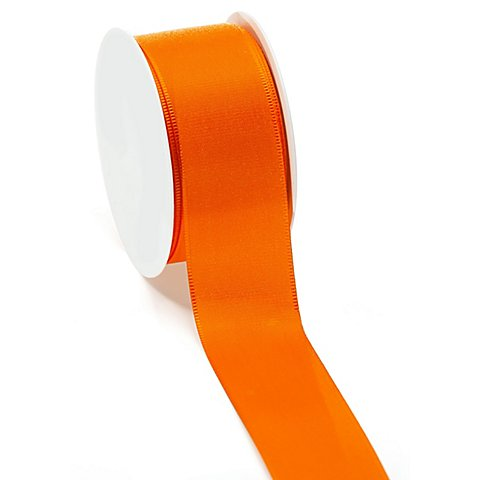 Stoffband, orange, 40 mm, 10 m