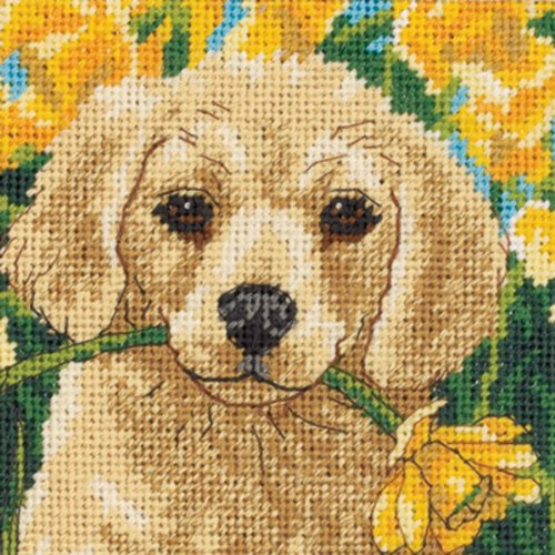 Dimensions D07231 Mini-Needlepoint, Welpen Unfug von Dimensions