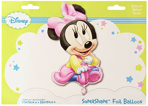 Amscan International Super Minnie Baby Girl von Disney