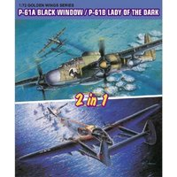 P-61A BlackWidow / P-61B Lady of Dark (2in1) von Dragon