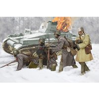 Soviet Infantry Winter 1941 von Dragon