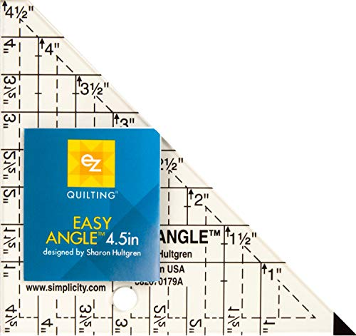 Wrights Easy Angle Acryl-Schablone, 11,4 cm, 670179 von Wright Products