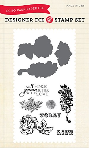 Echo Park Paper Company Stempel Things Grow Better with Love von Echo Park Paper Company