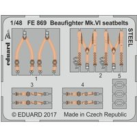 Bristol Beaufighter Mk.VI - Seatbelts STEEL [Tamiya] von Eduard