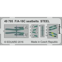 F/A-18C - Seatbelts STEEL [Kinetic] von Eduard
