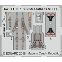 SU-35S Flanker E - Seatbelts STEEL [Great Wall Hobby] von Eduard
