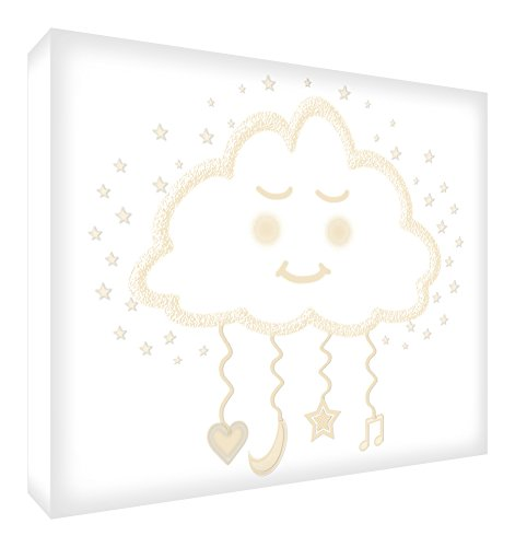 Feel Good Art 87 Grande (60 x 40 x 4 cm) beige von Feel Good Art