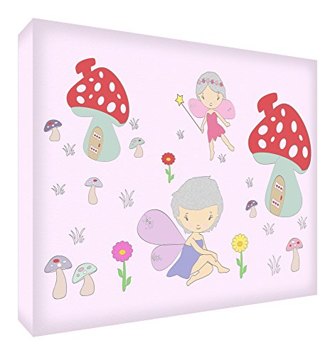 Feel Good Art fairyland1624 – 01It Bild auf Leinwand Wand Grande (60 x 40 x 4 cm) Mehrfarbig von Feel Good Art