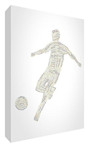 Feel Good Art football2436 – 01It X-Grande (60 x 91 x 4cm) Beige Tones von Feel Good Art