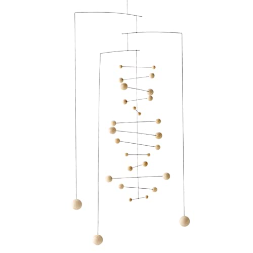 Flensted Mobiles 154an Counterpoint, Nature Mobile, be/schwarz, 67x33 cm von Flensted Mobiles