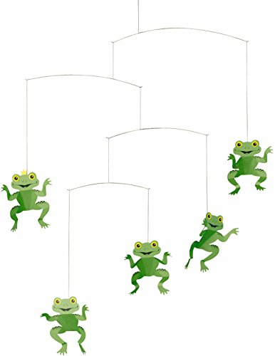 Flensted 112a The Happy Frog Mobile, Mehrfarbig, 53x45cm von Flensted Mobiles