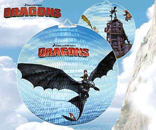 Happy People 13069 - DreamWorks Dragons Laterne, 25 cm von Happy People
