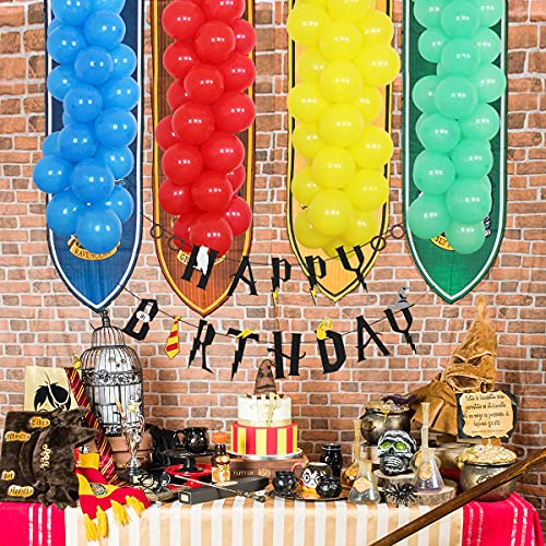 Magischer Zauberer Geburtstag Party Supplies Zauberer Thema Party Dekorationen – Ballon-Girlande Bogen Kit Happy Birthday Banner für Mädchen Jungen Geburtstag von Jollyboom