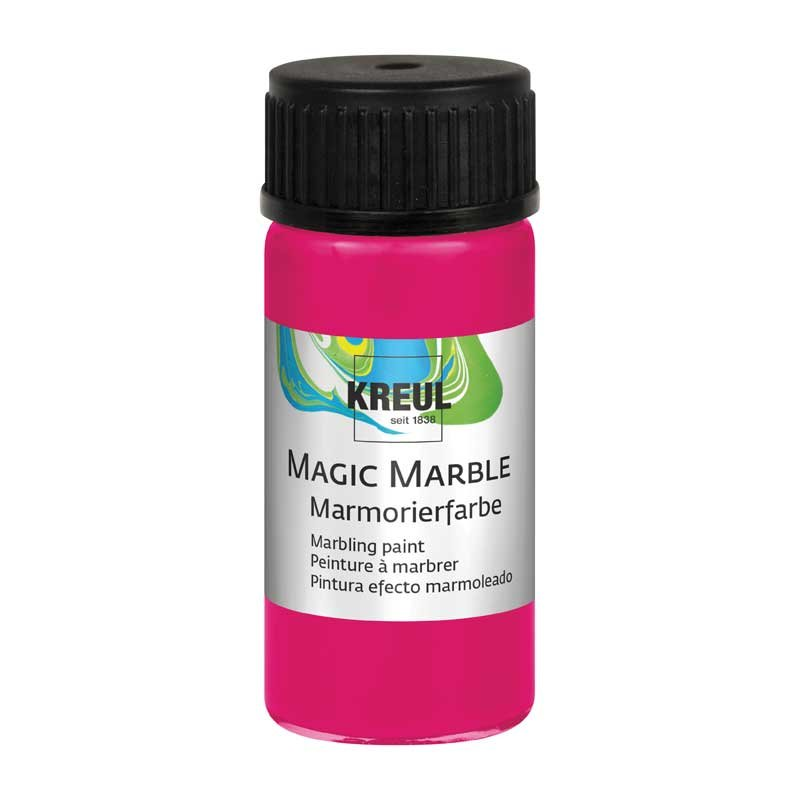 KREUL Magic Marble Marmorierfarbe 20ml neonpink von C. Kreul