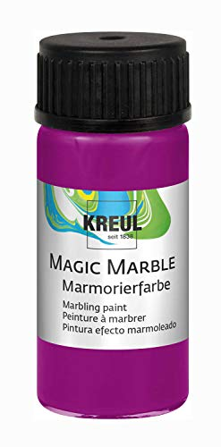 KREUL 73208 Magic Marble Marmorierfarbe, 20 ml, magenta von Kreul