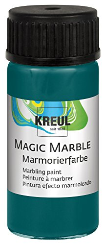 KREUL 73213 Magic Marble Marmorierfarbe, 20 ml, türkis von Kreul