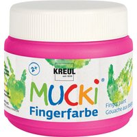 MUCKI Fingerfarbe, 150 ml - Pink von Kreul Kinder