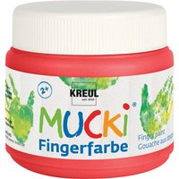MUCKI Fingerfarbe, 150 ml - Rot von Kreul Kinder